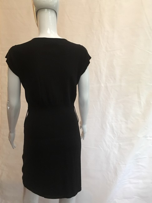 VENUS short dress Black Knit Cap Sleeve Cotton on Tradesy Image 1