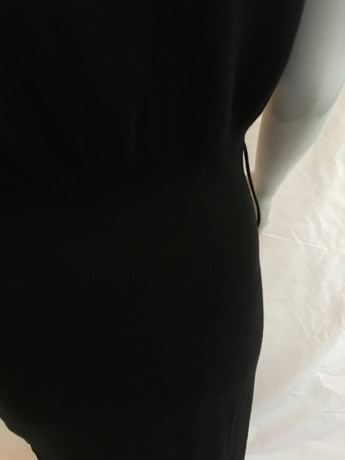 VENUS short dress Black Knit Cap Sleeve Cotton on Tradesy Image 2