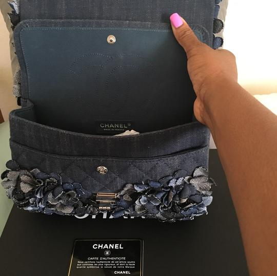Chanel Satchel in Blue Image 1