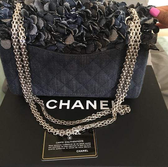 Chanel Satchel in Blue Image 2