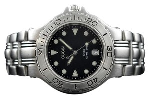Gucci 9750M Stainless Steel Sport Diver Watch