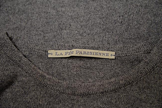 La Fee Parisienne Heather Cashmere I Dream In French Sweater Image 5