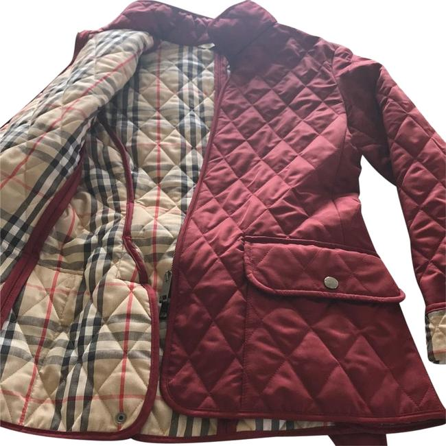 Item - Red Quilted Short Coat Size 2 (XS)