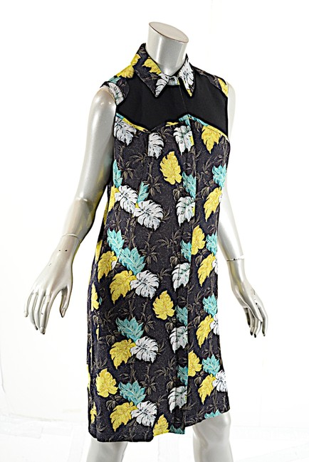 Proenza Schouler short dress Black Multi Color Fauna Print on Tradesy Image 2
