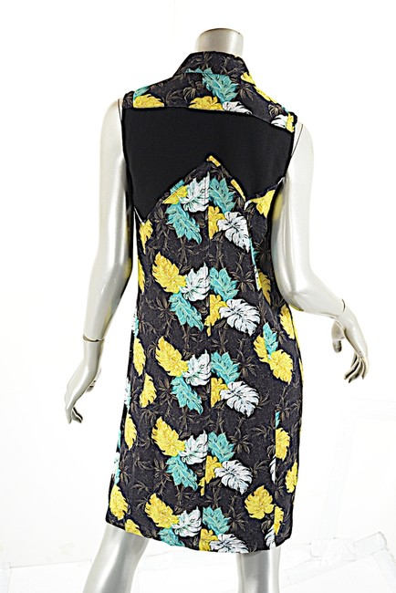 Proenza Schouler short dress Black Multi Color Fauna Print on Tradesy Image 5