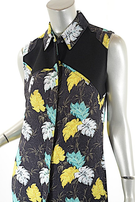 Proenza Schouler short dress Black Multi Color Fauna Print on Tradesy Image 7