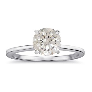 Avital & Co Jewelry 2.24 Carat Round Brilliant Diamond Solitaire Engagement Ring 14K WG