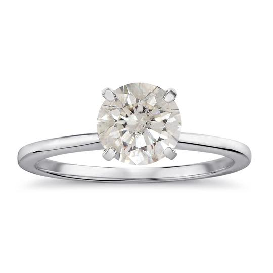 Avital & Co Jewelry 2.24 Carat Round Brilliant Diamond Solitaire Engagement Ring 14K WG Image 0
