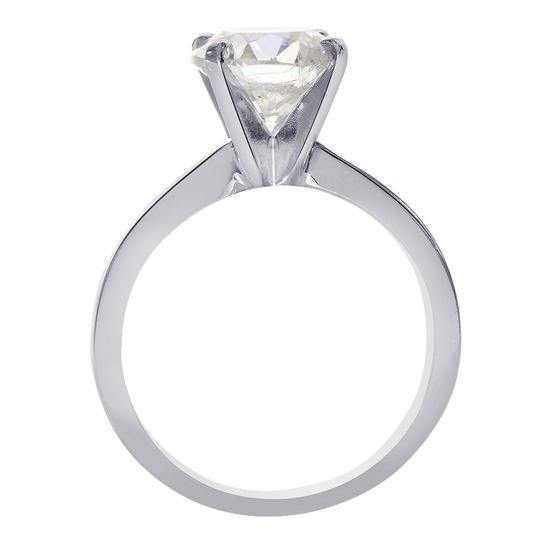 Avital & Co Jewelry 2.24 Carat Round Brilliant Diamond Solitaire Engagement Ring 14K WG Image 1