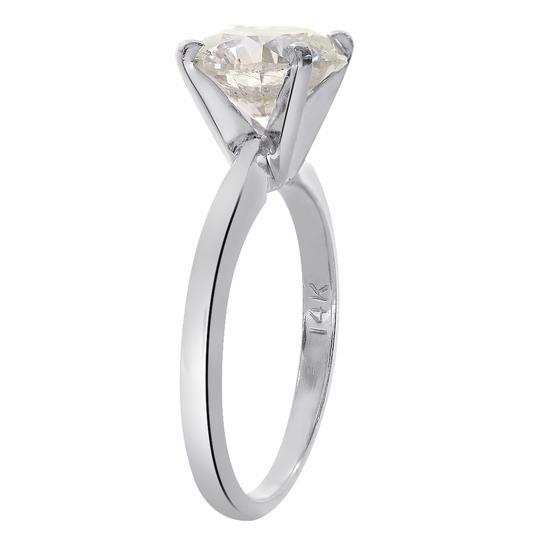 Avital & Co Jewelry 2.24 Carat Round Brilliant Diamond Solitaire Engagement Ring 14K WG Image 2