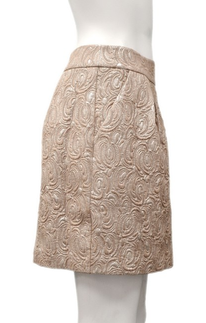 Beth Bowley Mini Skirt Metallic beige Image 2