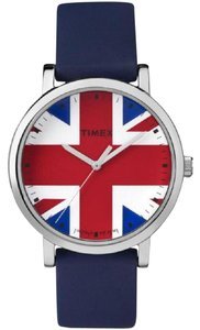 Timex TW2P70100 Unisex Blue Silicone Band With Multicolor Analog Dial