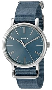Timex TW2P88700 Originals Women's Blue Nylon Band With Blue Analog Dial