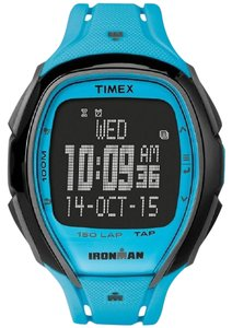 Timex TW5M00600 Ironman Men's Blue Resin Band With Black Digital Dial