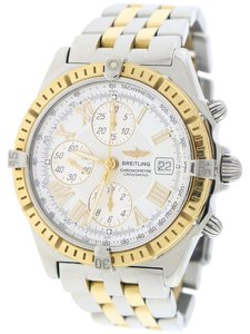 Breitling Breitling Windrider Crosswind 2-Tone White Roman 43mm Watch D13355