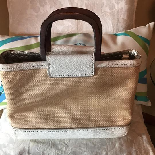 Sigrid Olsen Satchel in tan and ivory Image 4