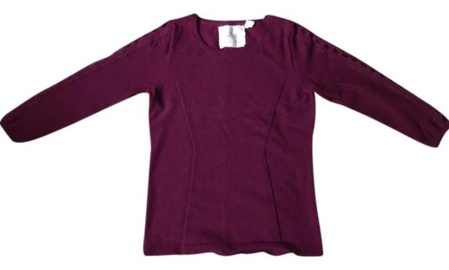 Preload https://img-static.tradesy.com/item/22374385/anthropologie-plum-angel-of-the-north-sweaterpullover-size-4-s-0-10-650-650.jpg