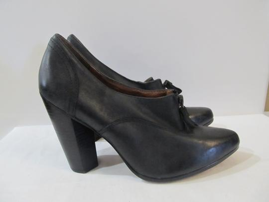 No. 704b Leather black Boots Image 1