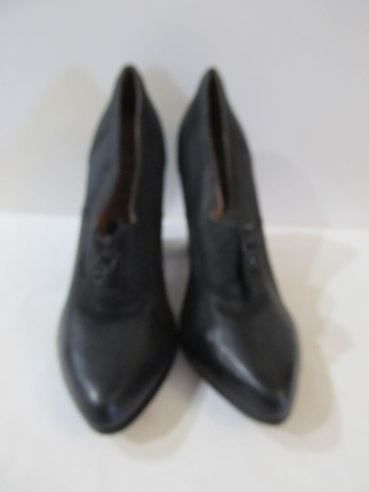 No. 704b Leather black Boots Image 2