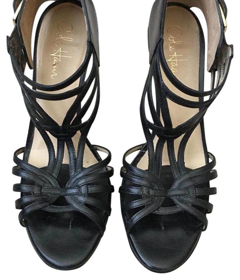 95b84d399f7 Cole Haan Black Maria Sharapova For Strappy Heels. Formal Shoes Size ...