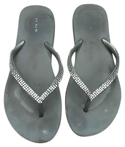 6d10f3240c196 Grey J.Crew Sandals - Up to 90% off at Tradesy