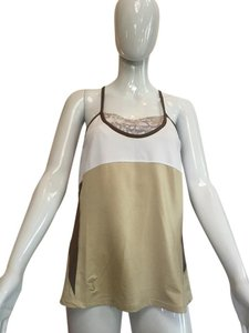 Tail Tail Tech tennis self bra cross back fit and flare top