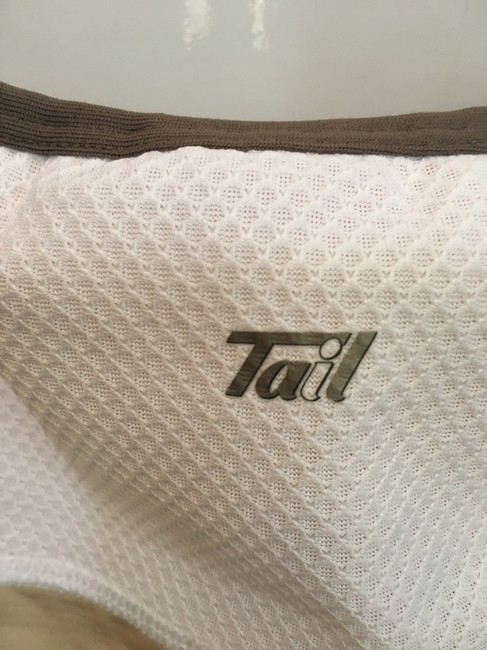 Tail Tail Tech tennis self bra cross back fit and flare top Image 6