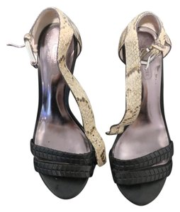 Coach Snakeskin and black Pumps