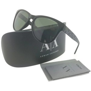 A|X Armani Exchange AX4015-80049A Unisex Black Frame Grey Lens 56mm Genuine Sunglasses