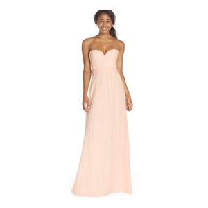 Amsale Blush Tulle Modern Wedding Dress Size 6 (S)