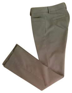 Express Straight Pants Taupe neutral