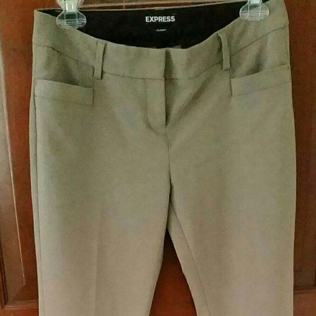 Express Straight Pants Taupe neutral Image 2