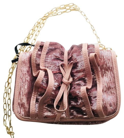 Preload https://img-static.tradesy.com/item/22375435/red-valentino-metallic-ruched-sequence-pink-leather-shoulder-bag-0-1-540-540.jpg