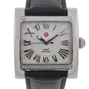 Michele Michele MW2 MW07C01 Diamond Ladies Stainless Steel Watch