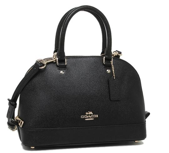 Coach Dome F57555 Brown Satchel in Black Image 1