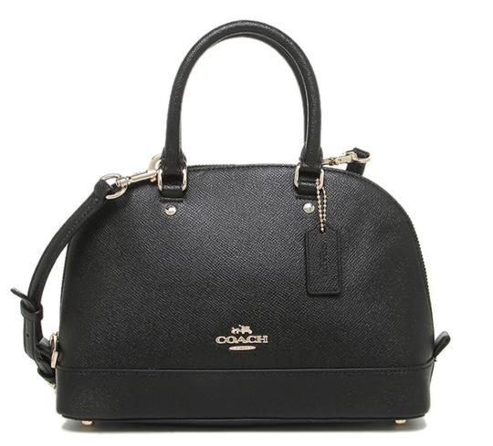 Coach Dome F57555 Brown Satchel in Black Image 6