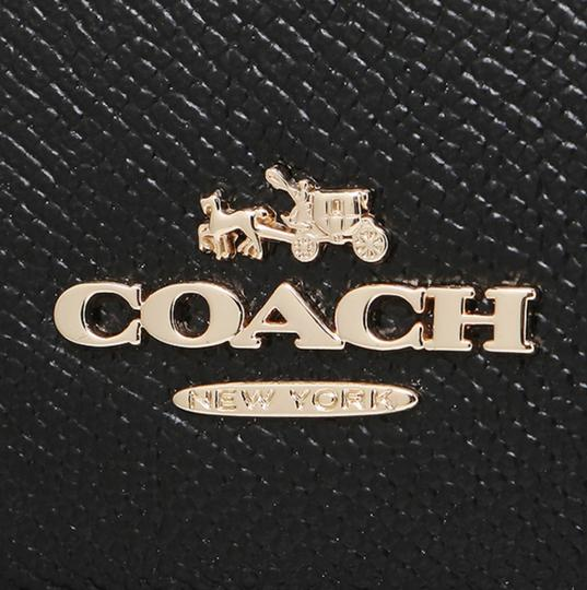 Coach Dome F57555 Brown Satchel in Black Image 9