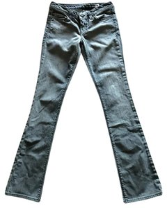 People's Liberation Gray Denim Trend Gray Boot Cut Jeans