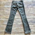 People's Liberation Gray Denim Trend Gray Boot Cut Jeans Image 1