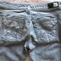 People's Liberation Gray Denim Trend Gray Boot Cut Jeans Image 2