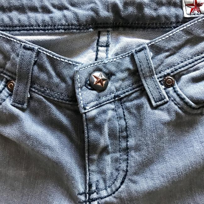 People's Liberation Gray Denim Trend Gray Boot Cut Jeans Image 3