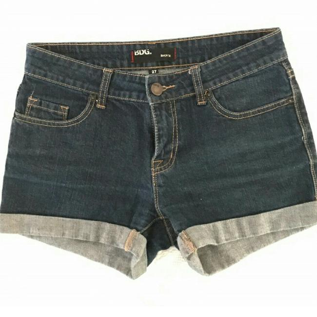 Urban Outfitters Denim Shorts-Dark Rinse Image 1