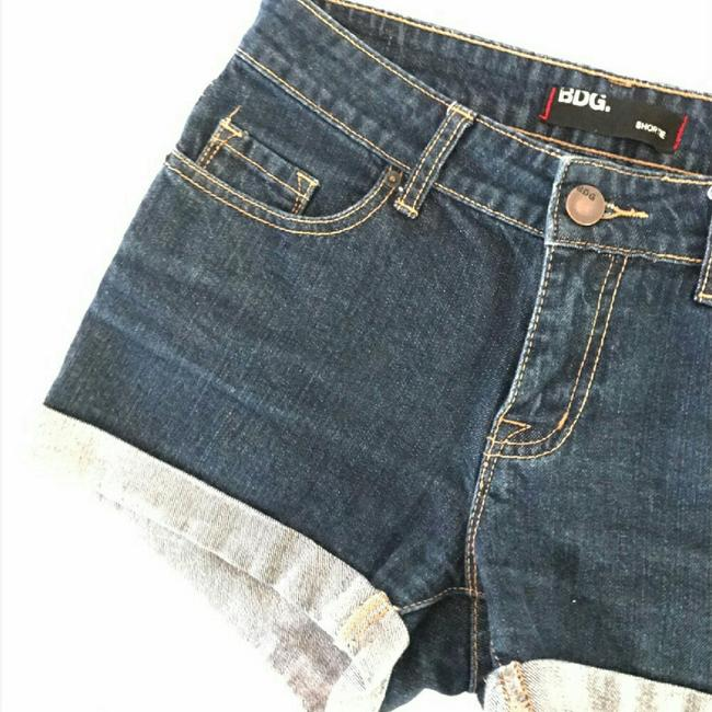 Urban Outfitters Denim Shorts-Dark Rinse Image 5
