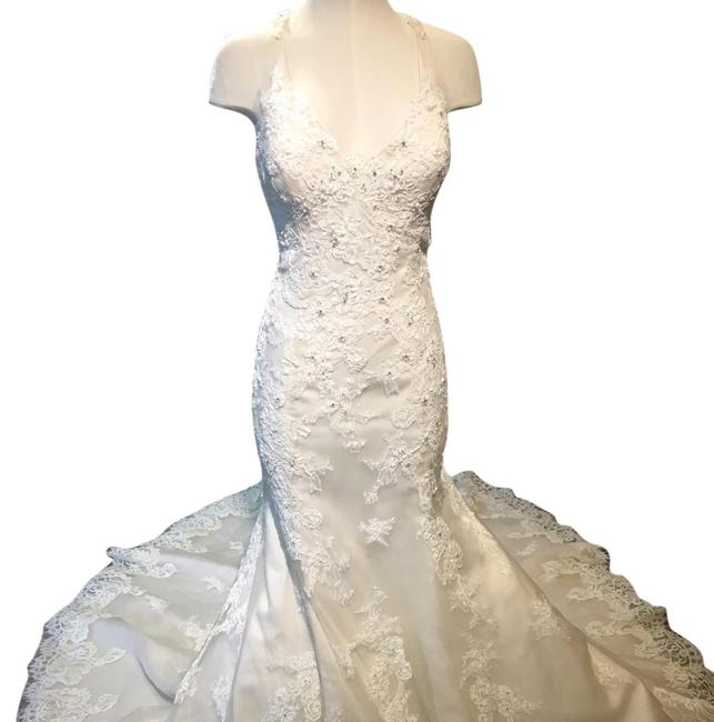 Maggie Sottero Ivory Over Champagne Wynter Traditional Wedding Dress Size 12 (L) Maggie Sottero Ivory Over Champagne Wynter Traditional Wedding Dress Size 12 (L) Image 1