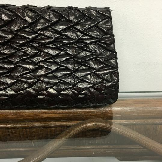 Ted Rossi Dark Brown Clutch Image 1