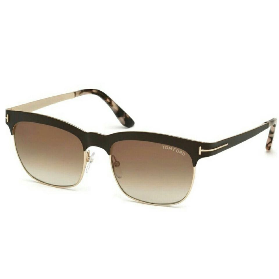 c61669d0b5680 Tom Ford Brown Elena Matte Brown-gold Women s Sunglasses - Tradesy