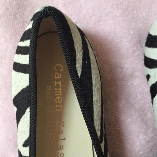 Anthropologie Black and cream Flats Image 2