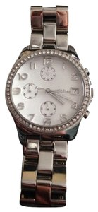 Marc by Marc Jacobs Marc By Marc Jacobs Silver Henry Crystal Boyfriend Watch
