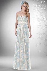 Bari Jay Ivory/Misty Blue 734 Dress