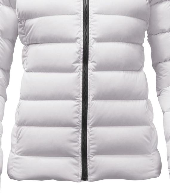 Item - White Stretch Women's 550 Fill Goose Down Jacket Size 8 (M)
